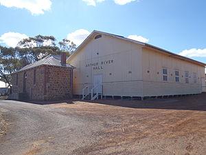 Arthur River, Western Australia - Arthur River Hall on Albany Highway