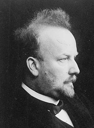 German philosopher Arthur Drews (1865-1935)