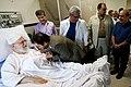 Artists and writers visiting Ali Khamenei in hospital 23.jpg
