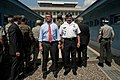 Ashton B. Carter and Gen. James D. Thurman tour the demilitarized zone separating North and South Korea, July 2012 (5).jpg