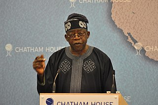 Bola Tinubu Nigerian politician
