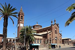 Church of Our Lady of the Rosary, Asmara - Image: Asmara, cattedrale cattolica, 01