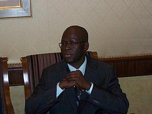 Cheikh Bamba Dièye - Cheikh Bamba Dièye at the National Conference of Senegal in Dakar