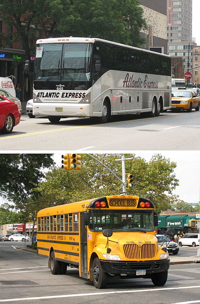 With a Bus Fleet Well-Equipped to Assist Disabled and Elderly Passengers, Atlantic Express Has Been Transporting School and Adult Passengers Since 1972.