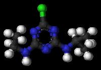 2-Chloro-4-ethylamino-6-isopropylamino-s-triazine