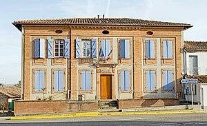 Aucamville, Tarn Et Garonne   The Town Hall Of Aucamville