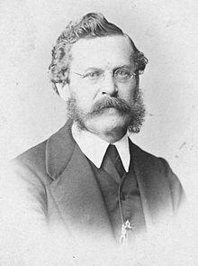 August Schmidt, Fotografie des Ateliers Dr. Székely & Massak (Quelle: Wikimedia)