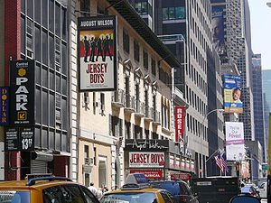 Jersey Boys - The August Wilson Theatre showing Jersey Boys