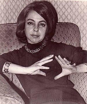 Aurora de Albornoz - Aurora de Albornoz in Madrid, mid-1970s