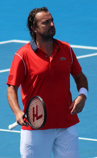 Henri Leconte - Leconte at the 2015 Australian Open