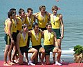 Australian Rowing Team 2004 - Tim Smith kneeling on left.jpg