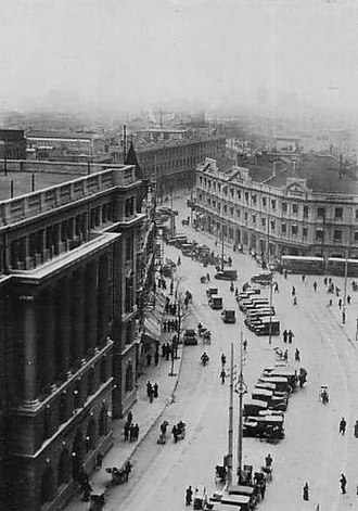 Yan'an Road - Avenue Edward VII before World War II.