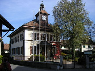 Avully - Image: Avully Mairie 20081018