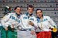 Award ceremony 2014 European Wheelchair Fencing Championships FFS-IN t173456.jpg