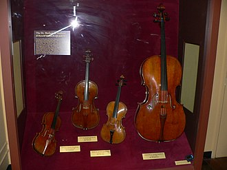 Herbert R. Axelrod - The Axelrod quartet, on display in the Smithsonian Institution National Museum of American History