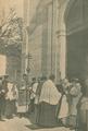 Bênção da Igreja de São Mamede pelo Cardeal-Patriarca e cónegos Sequeira Mora, Carlos Rego, e Martins Pontes, a 24 de Fevereiro de 1924 - Ilustração Portugueza (01Mar1924).png