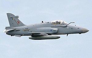 British Aerospace Hawk 200 - RMAF BAE Hawk 208