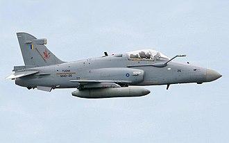 Equipment of the Royal Malaysian Air Force - Image: BAE Hawk 208 edited 2