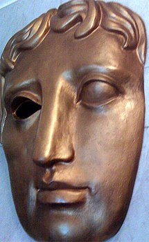 BAFTA Mask at Piccadilly Circus (2009) revised.jpg