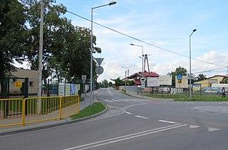 Bieniewice Village in Masovian, Poland