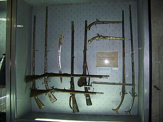 Herzegovina uprising (1875–77) - Weapons from the Uprising.