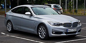 BMW 318d GT Modern Line (F34) %E2%80%93 Frontansicht, 31. August 2013, M%C3%BCnster