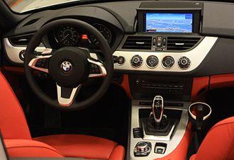 BMW Z4 (E89) - E89 interior (pre-facelift)