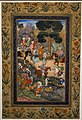 Babur meeting with Sultan Ali Mirza at the Kohik River - 1590- Cleveland Museum of Art (30250148295).jpg