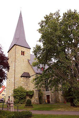 Bad Sassendorf - Image: Bad Sassendorf Sst. Simon und Judas Thaddäus außen