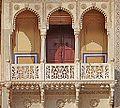 Balcon du Rajendra Pol (City Palace, Jaipur) (8486488059).jpg