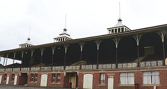Lake Wendouree, Victoria - The grandstand at City Oval Sturt Street, Lake Wendouree was built in 1887
