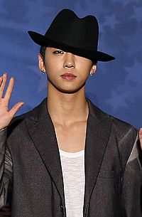 Bang Yong-guk at Korea KPOP World Festival 2013.jpg