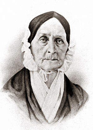 Barbara Fritchie - Barbara Fritchie in 1862