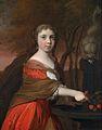 Barend Graat Porträt eines jungen Mädchens mit Kirschen.jpg