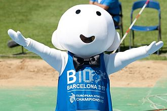 "2010 European Athletics Championships - Mascot ""Barni"""