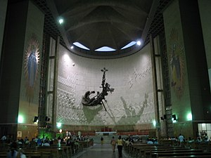 Queen Mary Cathedral, Barranquilla - Cathedral, internal view