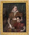 Bartolomeo passarotti, ritratto di nobildonna col figlio.JPG