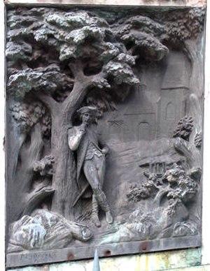 François Jouffroy - Image: Bas relief statue bonaparte auxonne