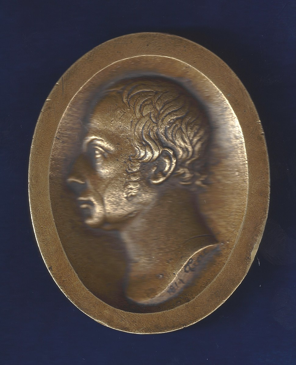 Basel, Switzerland, Napoleonic Wars Medal of Francis II by P. J. Treu (better version)