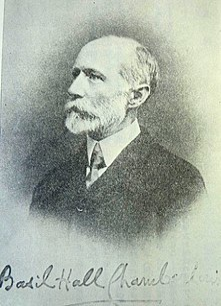 Basil Hall Chamberlain British academic