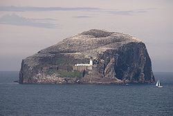Bass Rock, from Tantallon Castle.jpg