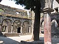 Bassein Fort, Jesuit Church cloister.JPG