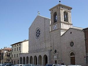 Bastia Umbra - Image: Bastia Umbra San Michele Arcangelo