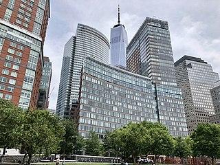 Battery Park City Neighborhood of Manhattan in New York City