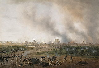 Battle of Smolensk (1812) during Napoleons invasion of Russia