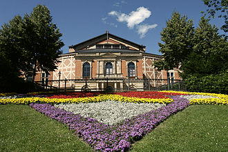 Bayreuth Festival - Bayreuth Festspielhaus, as seen in 2006
