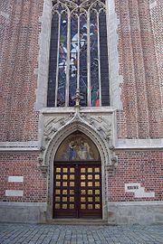 Bazilika nanebevzetí panny Marie (portál)