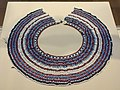 Beaded collar (icangci), South Africa, Xhosa people, early to mid 20th century, glass beads, string, button - Chazen Museum of Art - DSC01792.JPG