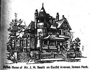 Beath–Dickey House - Beath–Dickey house, 1896