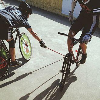 Hardcourt Bike Polo - Beavers vs Guardians, NAHBPC 2013